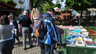 Różany bookcrossing